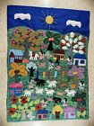 Hand stitched Quilted Mexican Wall Hanging