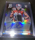 2014 PANINI SPECTRA FOOTBALL - MIKE EVANS - ROOKIE PATCH ON CARD AUTO 1 5 BLACK