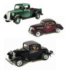 Best of 1930s Diecast Cars Set 9 Set of Three 1 24 Scale Diecast Model Cars