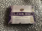 NEW AND SEALED 2019 20 UPPER DECK CLEAR CUT HOCKEY HOBBY BOX