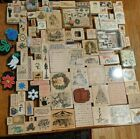 Huge Lot Of Ink Stamps Wood Rubber mixed brands