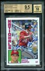 2012 Topps Archives Fan Favorites Bryce Harper Auto Rookie Card RC - BGS 9.5 10