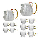 Hammer Pattern Teaware Home Office Teapot High Temperature Resistance