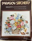FRAGRANCE OF SUMMER LARGE CREWEL EMBROIDERY KIT 1981 PARAGON STITCHERY