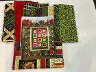 Christmas Tide Quilt Kit with Fabric and Pattern