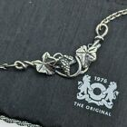 Trollbeads Retired Grape Maple Leaf Vintage Necklace 40cm SN stamped HTF rare