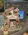 FONTANINI 5 NATIVITY 50236 LIGHTED POULTRY SHOP VILLAGE BUILDING RETIRED BOX