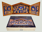 1993 Fontanini Nativity Advent Calendar Complete Set Wooden with Box