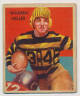 1935 National Chicle Football Cards 35