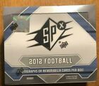2012 SPX Football Sealed Hobby Box...Russell Wilson Auto Jersey RC?...Luck RC?