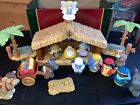 Fisher Price Little People Christmas Story Nativity Playset 2011 18 Piece Set