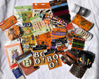 HUGE LOT Halloween Scrapbook Stickers Ribbon Buttons K  Company Recollections