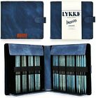 Lykke Double Pointed Needles Gift Sets Large US 6 13 Set in Indigo Denim Pouch
