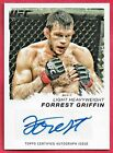 FORREST GRIFFIN AUTO CARD 2011 Topps UFC Moment of Truth Autograph MMA