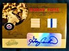 2005 Absolute Gary Carter Auto Autograph Dual Game Used Worn Jersey Bat 25 Rare
