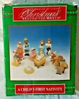 Vintage 1994 House of Lloyd Childs First Nativity Christmas Around the World