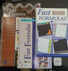 Fast Formulas 3rd and 4th editions all new formulas and page pattern organizer
