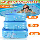 Large Inflatable Swimming Pool Family Kids Water Play Fun Backyard Outdo