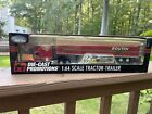 DIE CAST PROMOTIONS BOUTIN TRANSPORT SEMI CAB TRUCK  DRY VAN TRAILER 164 SCALE