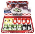 VOLKSWAGEN NEW BEETLE DIECAST CAR BOX OF 12 1 32 SCALE DIECAST CARS ASSORTED
