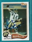 Dan Fouts Cards, Rookie Card and Autographed Memorabilia Guide 19
