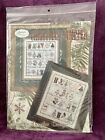 Jeannette Douglas Designs Christmas Sampler w Accessories COUNTED CROSS STITCH