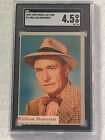 1953 Topps Who-z-at Star Trading Cards 42