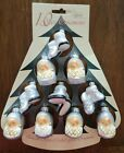 Glass Ornaments Baby Slippers set of 10 RARE