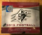2013 SPX Football Factory Sealed Hobby Box...Deandre Hopkins, Bell Rookie Cards?