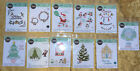11 Sizzix Thinlits Christmas Themed Cutting Die Sets FREE GIFT