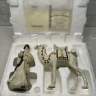 Hawthorne Village Irish Nativity Collection King Gaspar and his Standing Camel