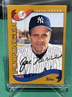 Joe Torre Signed Autograph 2002 Topps Baseball Card Signed New York Yankees Auto
