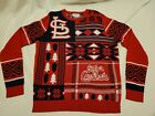 Men's Unisex MLB *Klew St. Louis Cardinals Ugly Christmas Sweater Size Large