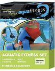 New  Improved AQUA 6 Piece Fitness Set for Water Aerobics Pool Exercise