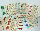Vintage Lot of Mrs Grossmans Stickers Hearts Stars Flowers  Christmas +More