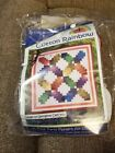 New Cotton Rainbow Quilt Kit by Cozy Quilt Designs Pixie Party