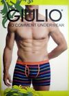Giulio No Comment Mens Boxer Brief - Striped Design - S