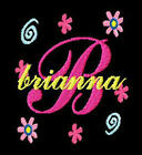 GIRL SCRIPT MONOGRAM FONTS EMBROIDERY MACHINE DESIGNS