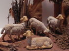 Pellegrini Sheep Figurines for Nativity Scene Presepio Pesebre Manger Creche