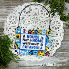 CATAHOULA DOG Ornament Mini Sign DecoWords ALL BREEDS Available Just Ask USA