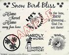 FABRIC PANEL~SNOW BIRD BLISS~BLOCK PARTY STUDIOS~NAT.