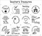 TEACHERS TREASURES FABRIC PANEL~BLOCK PARTY STUDIOS