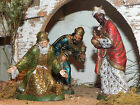 Wise Men Nativity King Figurines Landi Presepio Reyes para Pesebre Nacimientos
