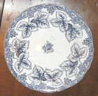 RARE~CHARLES MEIGH & SON Mid-1800s Flow Blue Platter