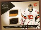 Miikka Kiprusoff 2010-11 Luxury Suite Jersey Patch # 10