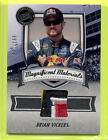 2011 Press Pass Fanfare Magnificent Materials Brian Vickers RU Firesuit 199