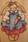 Rubber Stampede Rubber Stamp Betsy Bunny Easter