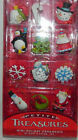 Christmas Table Tree Mini Ornaments Assorted Decoration Box 12 Pcs