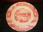 Johnson Bros Meier & Frank Co Oregon Souvenir China Plate Lewis & Clark   NG3