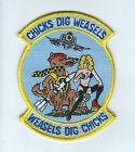 561st TFS CHICKS DIG WEASELS patch